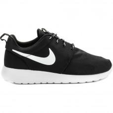 Nike Roshe Run 12 черные с белым